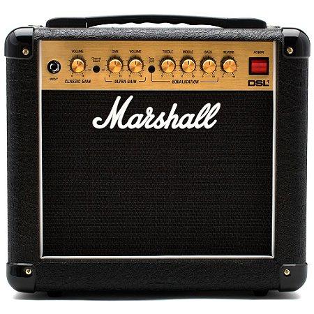Combo Valvulado Para Guitarra Marshall DSL1CR Amplificador 1W