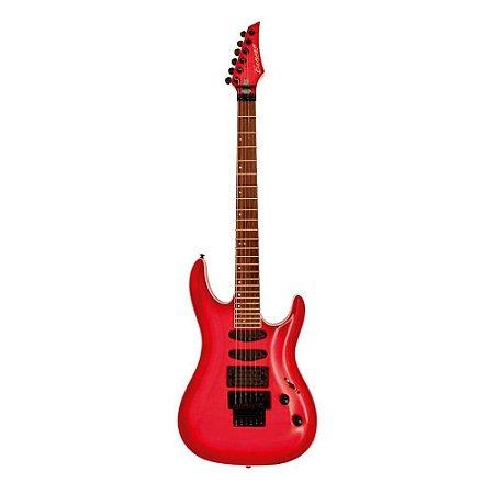 Guitarra Strato Custom Series Vermelho Translúcido Benson AVENGER STX com braço de Maple/Nyatoh e captadores H-S-S cerâmico