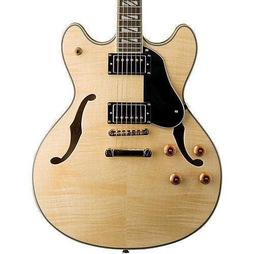 Guitarra Semi Acústica Washburn com case HB35N natural