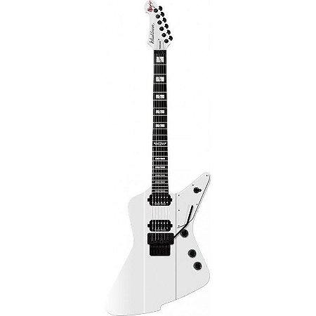Guitarra Washburn Parallaxe PXZ-MM20FRWH Signature Marzi Montazeri White Gloss com Bag