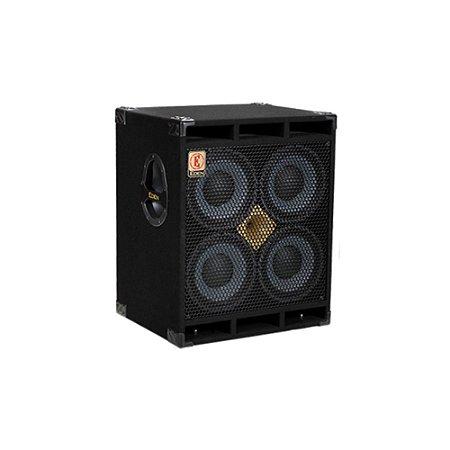 Caixa para Contrabaixo Eden D410XLT8 700W 4 falantes de 10'' polegadas 8 Ohms