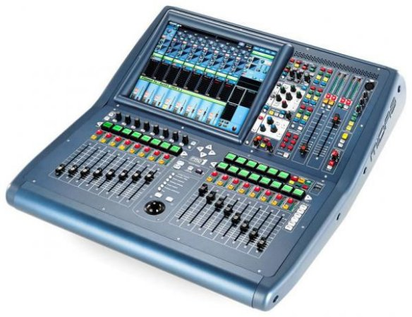 Mixer Digital Midas PRO1 em case