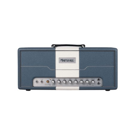 Amplificador Personalizado para Guitarra Marshall Astoria AST3H-B Cabeçote Azul 12'' 30W