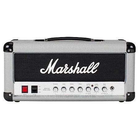 Cabeçote Valvulado para Guitarra Marshall 2525H Amplificador Mini Silver Jubilee 20W