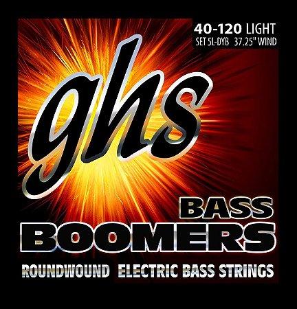 Encordoamento para Contrabaixo GHS 5L-DYB Light Série Bass Boomers (contém 5 cordas)