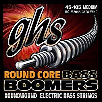 Encordoamento para Contrabaixo GHS RC-M3045 Medium Série Bass Boomers (contém 4 cordas)