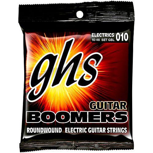 Encordoamento para Guitarra Elétrica GHS GBL Light Série Guitar Boomers (contém 6 cordas)