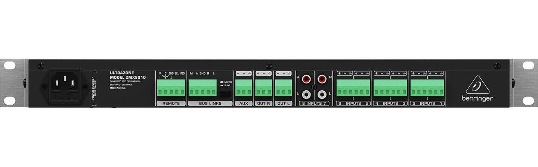 Mixer Ultrazone Behringer ZMX8210 110V