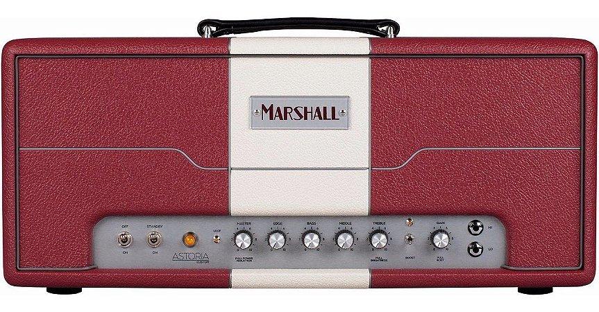 Amplificador Personalizado para Guitarra Marshall Astoria AST2H Cabeçote Vermelho 30W