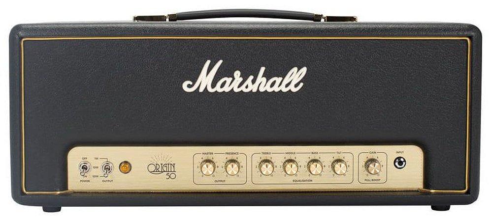 Amplificador Valvulado para Guitarra Marshall Origin 50H Cabeçote 50W