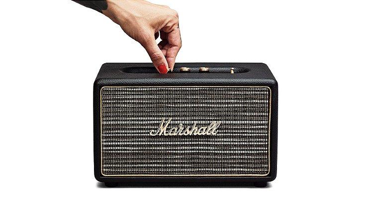 Caixa de Som Marshall Acton Black Export 41W com Bluetooth