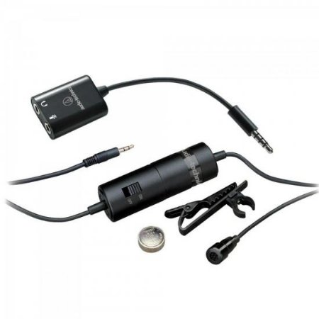 Microfone Lapela Omnidirecional ATR3350IS AUDIO TECHNICA