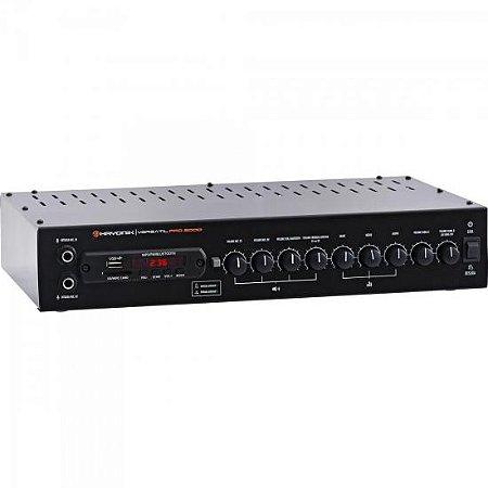 Amplificador 200W com Bluetooth VERSATIL PRO-2000 Preto HAYONIK