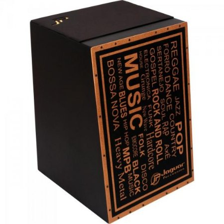 Cajon Acústico Inclinado MUSIC K2-AC-MU JAGUAR