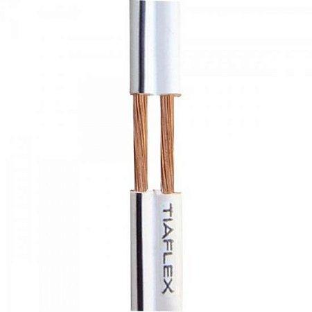 Fio Polar Ext 2x0,20mm 24 Branco TIAFLEX (100m)