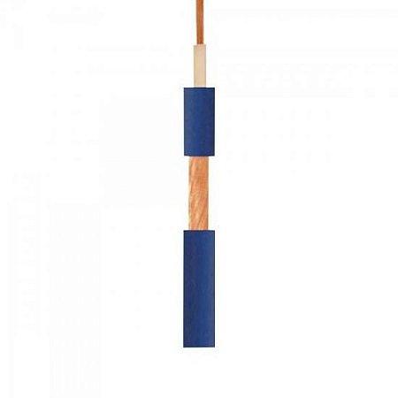 Fio Guitarra 0,20mm Emborrachado Azul TIAFLEX