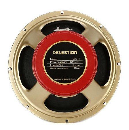 Alto-falante para Guitarra Celestion G12H-150 Redback Cerâmico 8 Ohms 12'' 150W