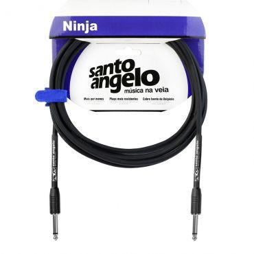 Cabo para instrumentos Santo Angelo NINJA CABLE B de 3,05m