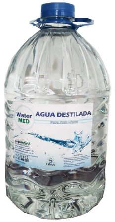 Água Destilada Para Autoclave 5 Litros