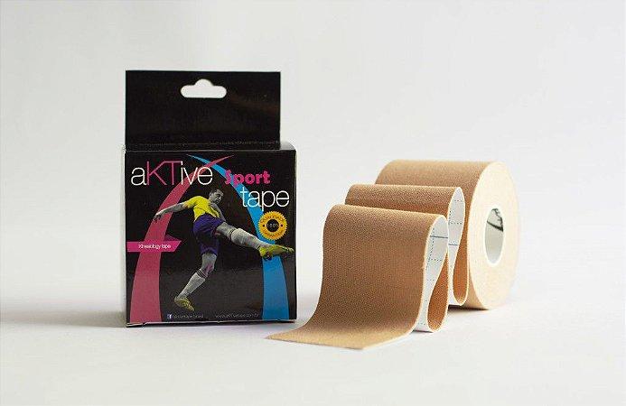 Bandagem Elástica Adesiva 5m x 5 cm - Aktive Tape