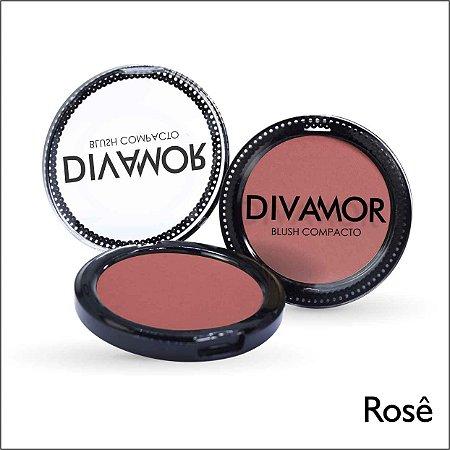 * Divamor Blush Compacto Rose