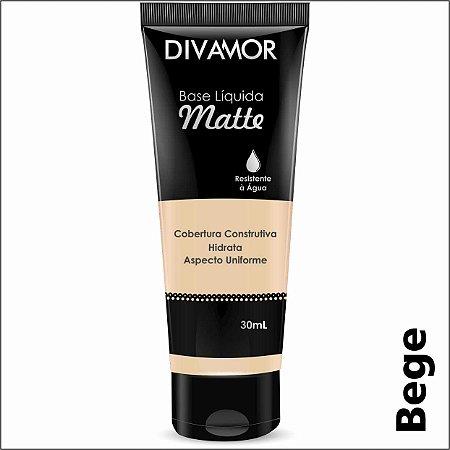 * Divamor Base Liq Matte R. Agua Bege