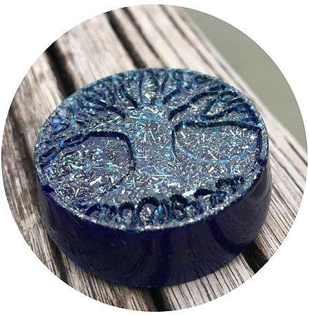 Orgonite pessoal Árvore da Vida - com cristal de quartzo