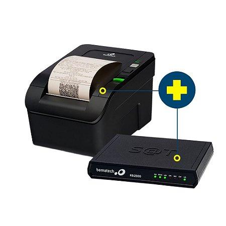 Kit SAT Bematech com Impressora MP-100S