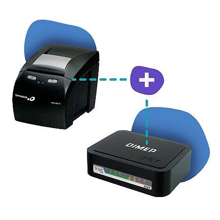Kit SAT Dimep com Impressora Bematech MP-4200 TH
