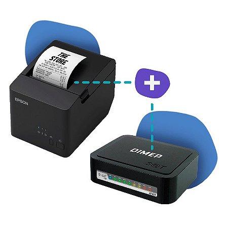 Kit SAT Dimep com Impressora Epson TM-T20X