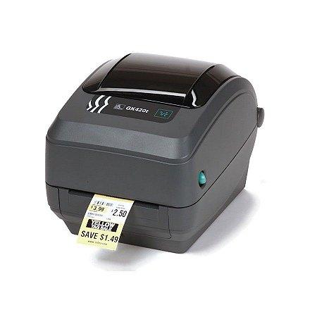 Impressora de Etiquetas Zebra GK-420T Ethernet 203dpi