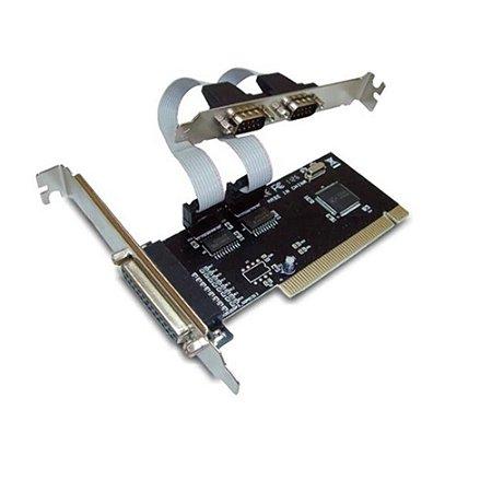 Placa Mutiserial Feasso PCI com saída Paralela