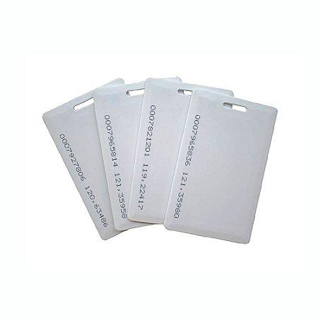 Cartão proximidade RFID-ID Clamshell 125Khz - Pacote com 20 unidades