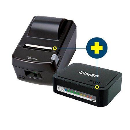Kit SAT Dimep com Impressora Daruma DR-800L