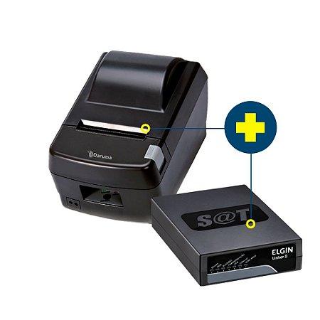 Kit SAT Elgin com Impressora Daruma DR-800L