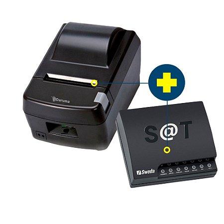 Kit SAT Sweda com Impressora Daruma DR-800L