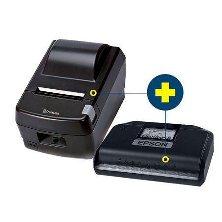 Kit SAT Epson com Impressora Daruma DR-800L