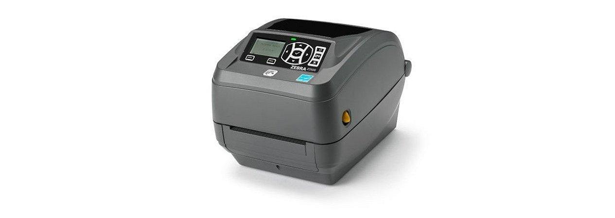 Impressora de Etiquetas Zebra GX-430TT 300DPI USB/Serial/Paralela