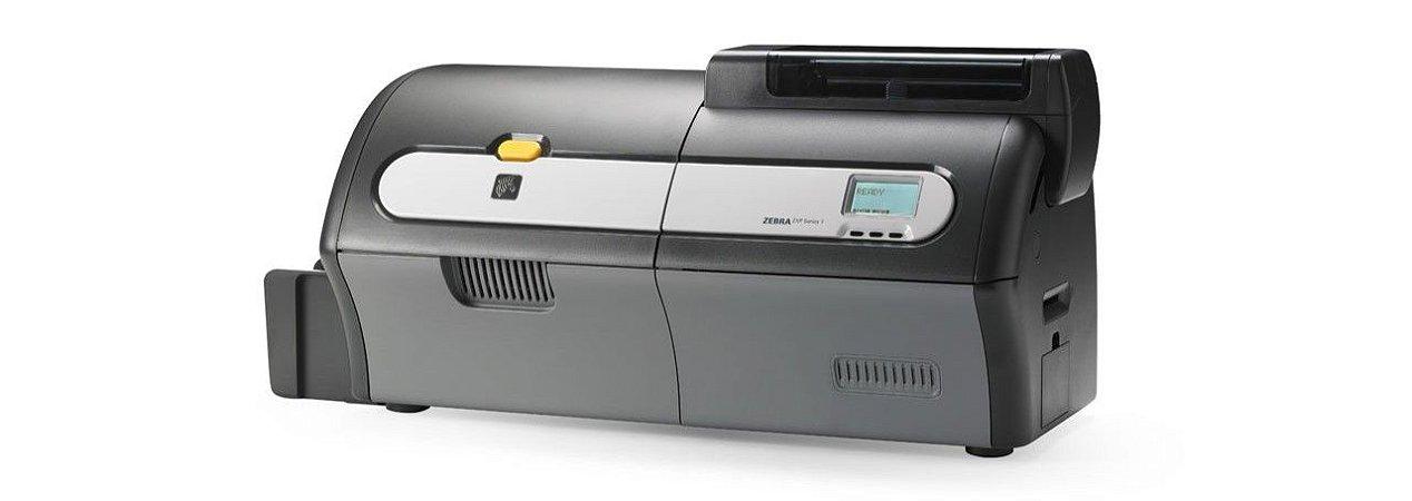 Impressora de Cartões Zebra ZXP-7 Frente e Verso Grava Tarja