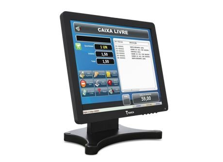 "Monitor Touch Screen Tanca LCD 15"" TMT-520"