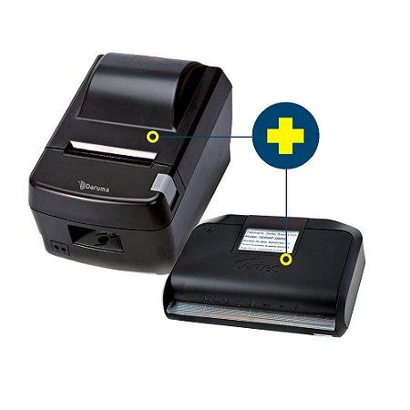 Kit SAT Gertec com Impressora Daruma DR-800L