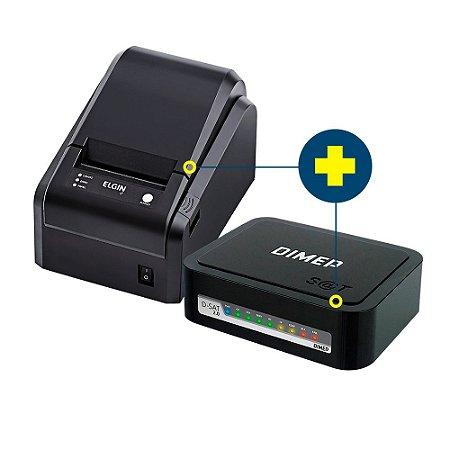 Kit SAT Dimep com Impressora Elgin i7