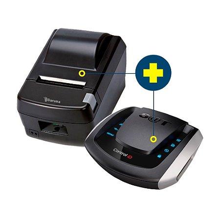 Kit SAT Control ID com Impressora Daruma DR-800L