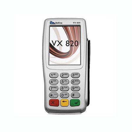"Pin Pad Verifone VX-820 Tela 3.5"" Usb"
