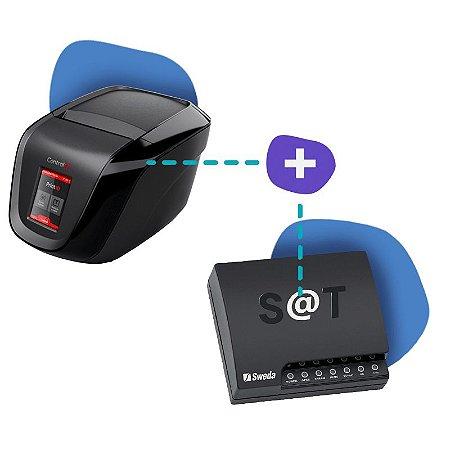 Kit SAT Sweda com Impressora Print ID Touch