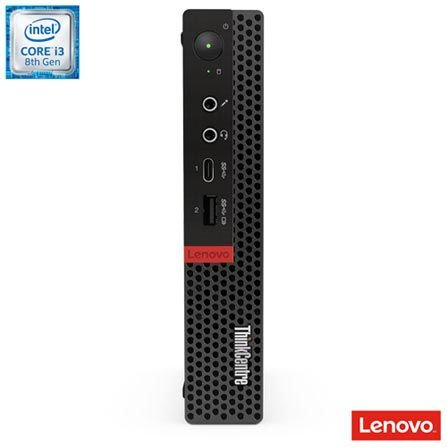 Desktop Lenovo M720q i3-8100T 4GB 500GB W10 Pro 10T80013BP