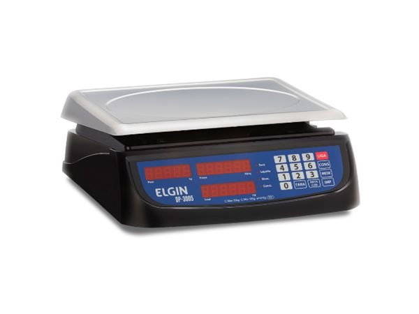 Balança Elgin 30kg DP-3005 com bateria - 46BALEC30PC5