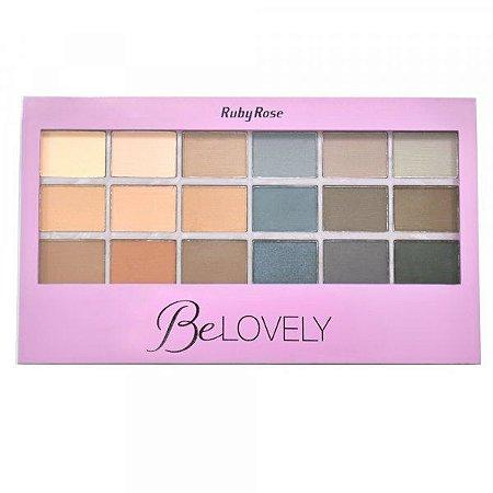 Paleta de Sombra BeLovely - Ruby Rose