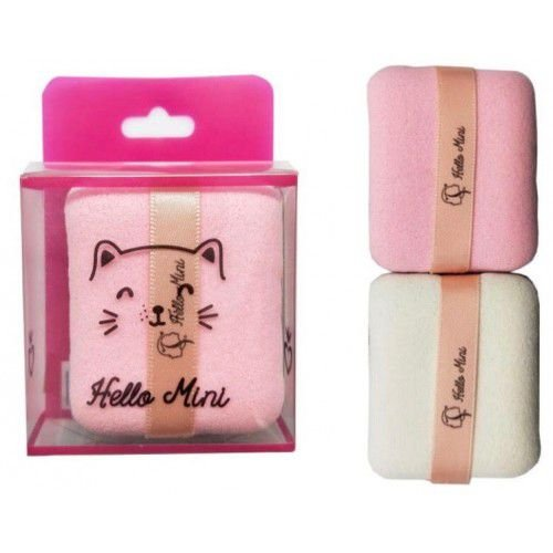 Kit com 2 Esponjas para Maquiagem - Hello Mini