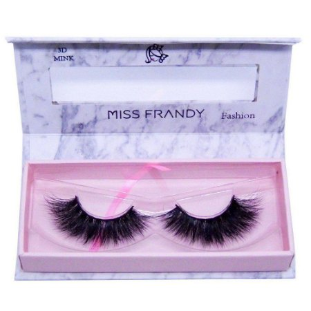 Cílios Postiços Mink 6D 0401 - Miss Frandy